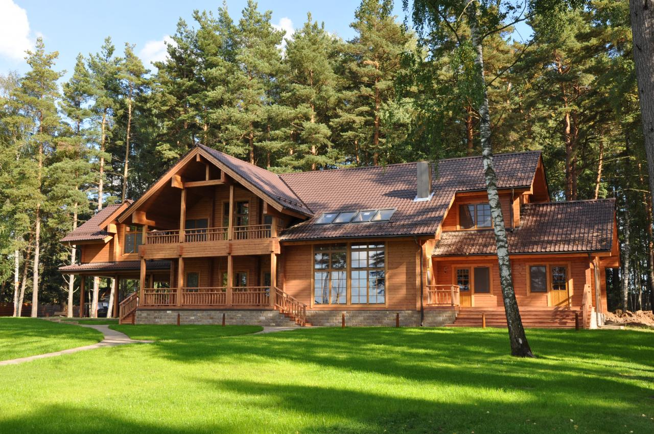 Luxury Log Homes Deluxe Home Design