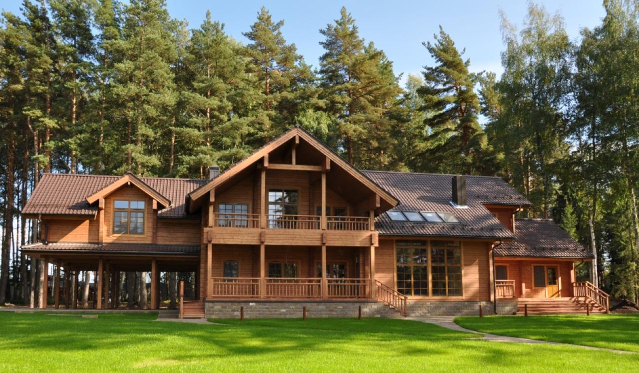 Artichouse brothers 39 villa 569 m2 for Luxury log homes